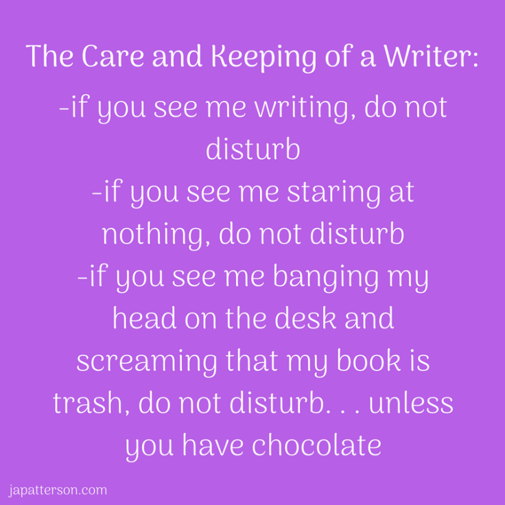 The care and keeping of a writer_-if you see me wr